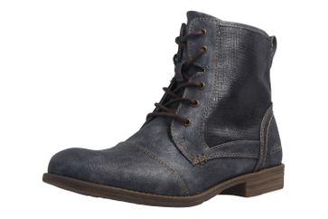 Mustang Shoes Boots in Übergrößen Blau 1157-549-820 große Damenschuhe – Bild 1