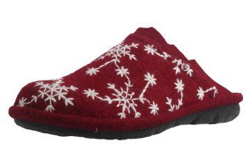 ROMIKA - Mikado 98 - Damen Hausschuhe - Bordo Schuhe in Übergrößen – Bild 1