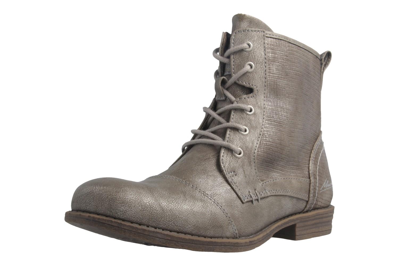 MUSTANG - Damen Boots - Grau Schuhe in Übergrößen – Bild 1