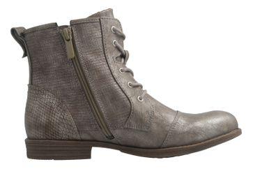 Mustang Shoes Boots in Übergrößen Grau 1157-549-258 große Damenschuhe – Bild 4