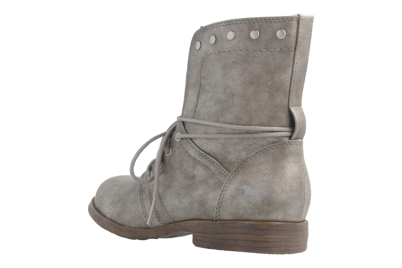 Mustang Shoes Boots in Übergrößen Grau 1134-505-258 große Damenschuhe – Bild 2