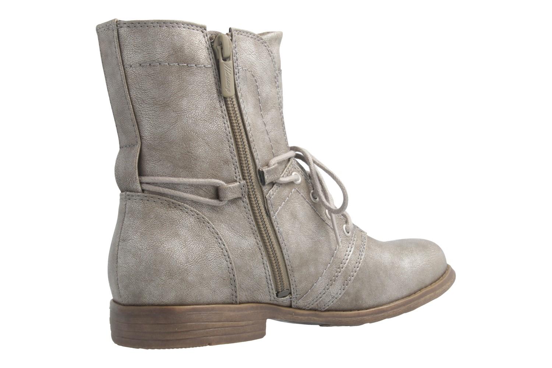 Mustang Shoes Boots in Übergrößen Grau 1134-505-258 große Damenschuhe – Bild 3