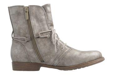 Mustang Shoes Boots in Übergrößen Grau 1134-505-258 große Damenschuhe – Bild 4