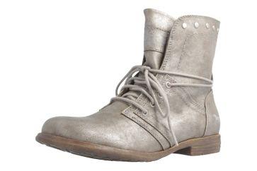 Mustang Shoes Boots in Übergrößen Grau 1134-505-258 große Damenschuhe – Bild 1