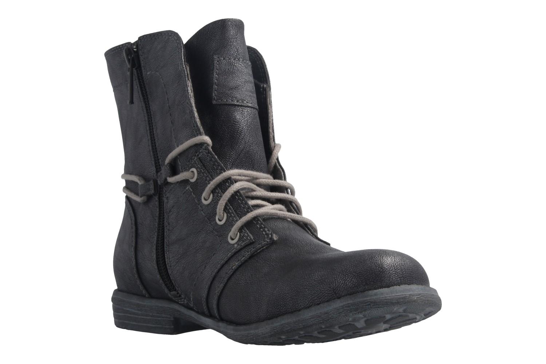 Mustang Shoes Boots in Übergrößen Grau 1134-505-200 große Damenschuhe – Bild 5