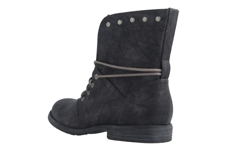 Mustang Shoes Boots in Übergrößen Grau 1134-505-200 große Damenschuhe – Bild 2