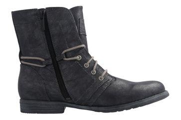 Mustang Shoes Boots in Übergrößen Grau 1134-505-200 große Damenschuhe – Bild 4