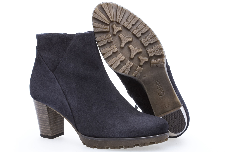 GABOR - Damen Stiefeletten - Blau Schuhe in Übergrößen – Bild 6