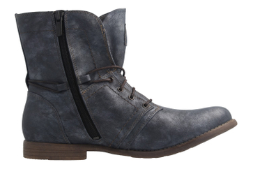 Mustang Shoes Boots in Übergrößen Blau 1134-505-820 große Damenschuhe – Bild 4