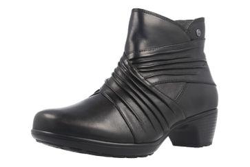 Romika Banja 05 Stiefeletten in Übergrößen Schwarz 45205-VL90-110-Black große Damenschuhe