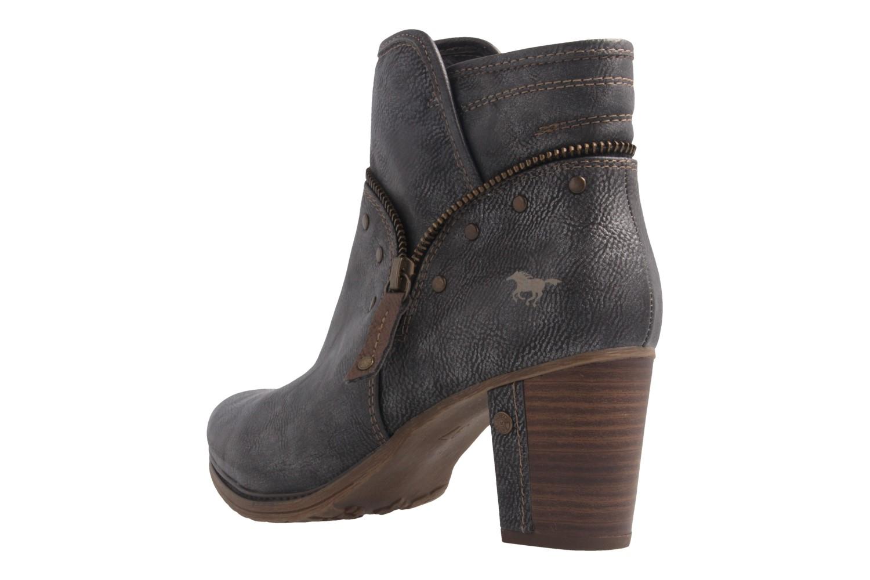 Mustang Shoes Stiefeletten in Übergrößen Grau 1199-518-20 große Damenschuhe – Bild 2