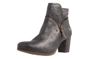 Mustang Shoes Stiefeletten in Übergrößen Grau 1199-518-20 große Damenschuhe – Bild 1