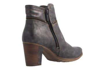 Mustang Shoes Stiefeletten in Übergrößen Grau 1199-518-20 große Damenschuhe – Bild 3