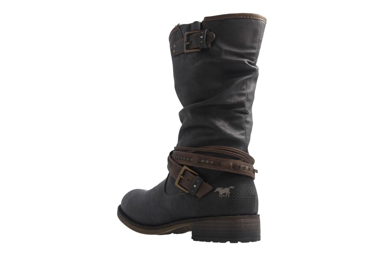 Mustang Shoes  Boots in Übergrößen Graphit 1139-624-259 große Damenschuhe – Bild 2