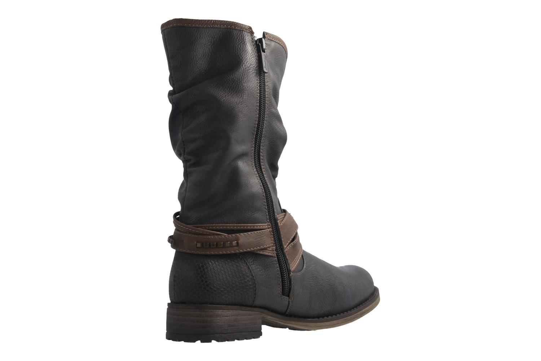 Mustang Shoes  Boots in Übergrößen Graphit 1139-624-259 große Damenschuhe – Bild 3