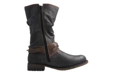 Mustang Shoes Boots in Übergrößen Grau 1139-624-259 große Damenschuhe – Bild 4