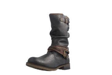 Mustang Shoes  Boots in Übergrößen Graphit 1139-624-259 große Damenschuhe – Bild 1