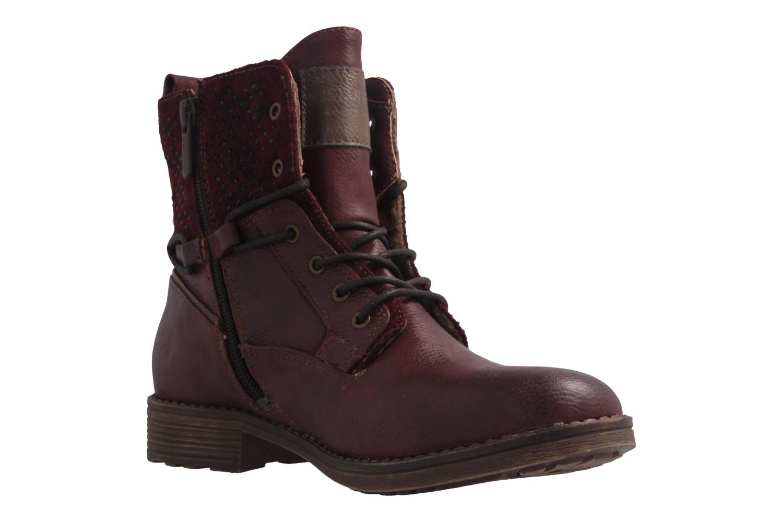 Mustang Shoes Boots in Übergrößen Rot 1265-504-55 große Damenschuhe – Bild 5