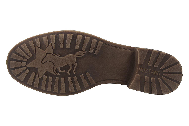 Mustang Shoes Boots in Übergrößen Rot 1265-504-55 große Damenschuhe – Bild 6
