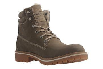 MUSTANG - Damen Boots - Beige Schuhe in Übergrößen – Bild 5