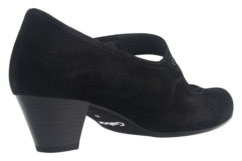 GABOR - Damen Spangenpumps - Schwarz Schuhe in Übergrößen – Bild 3