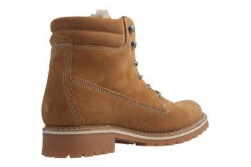 Mustang Shoes Boots in Übergrößen Beige 2837-604-307 große Damenschuhe – Bild 3