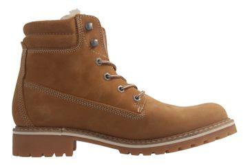 Mustang Shoes Boots in Übergrößen Beige 2837-604-307 große Damenschuhe – Bild 4