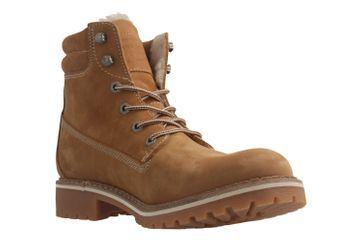 Mustang Shoes Boots in Übergrößen Beige 2837-604-307 große Damenschuhe – Bild 5