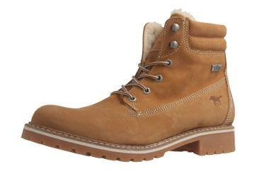 Mustang Shoes Boots in Übergrößen Beige 2837-604-307 große Damenschuhe – Bild 1
