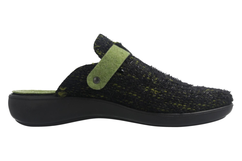 ROMIKA - Ibiza Home 316 - Damen Hausschuhe - Grün Schuhe in Übergrößen – Bild 4