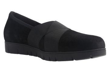 GABOR - Damen Slipper mit Keilabsatz - Schwarz Schuhe in Übergrößen – Bild 5