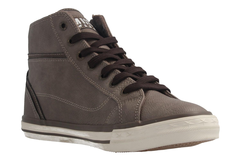 Mustang Shoes High Top Sneaker in Übergrößen Braun 1209-502-308 große Damenschuhe – Bild 5