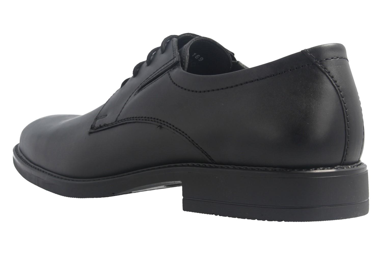 Fretz Men Business-Schuhe in Übergrößen Schwarz 8411.6462-51 große Herrenschuhe – Bild 2
