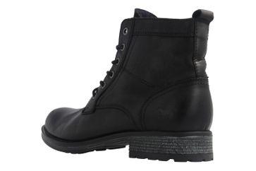 Mustang Shoes Boots in Übergrößen Schwarz 4865-507-9 große Herrenschuhe – Bild 2
