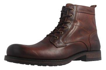Mustang Shoes Boots in Übergrößen Kastanie 4865-507-301 große Herrenschuhe – Bild 1