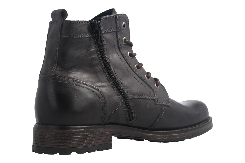 Mustang Shoes Boots in Übergrößen Grau 4865-507-900 große Herrenschuhe – Bild 3