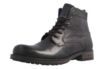 Mustang Shoes Boots in Übergrößen Schwarz 4865-507-900 große Herrenschuhe – Bild 1