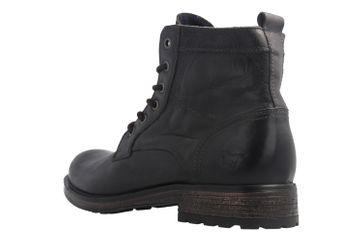 Mustang Shoes Boots in Übergrößen Schwarz 4865-507-900 große Herrenschuhe – Bild 2