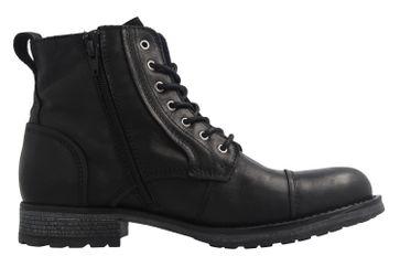 Mustang Shoes Boots in Übergrößen Schwarz 4865-509-9 große Herrenschuhe – Bild 4