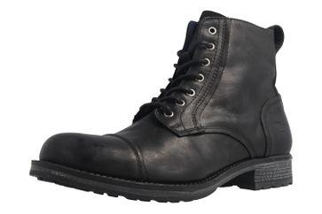 Mustang Shoes Boots in Übergrößen Schwarz 4865-509-9 große Herrenschuhe – Bild 1