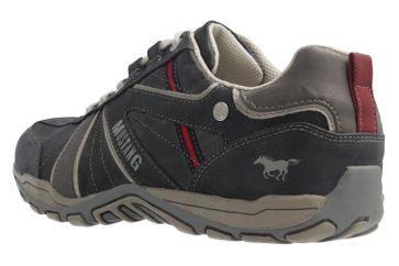 Mustang Shoes Sneaker in Übergrößen Grau 4027-316-200 große Herrenschuhe – Bild 2