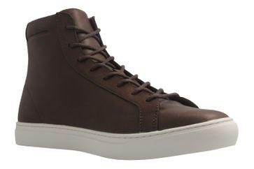 LACOSTE - Herren Sneaker - L12.12 MID 317 - Braun Schuhe in Übergrößen – Bild 5