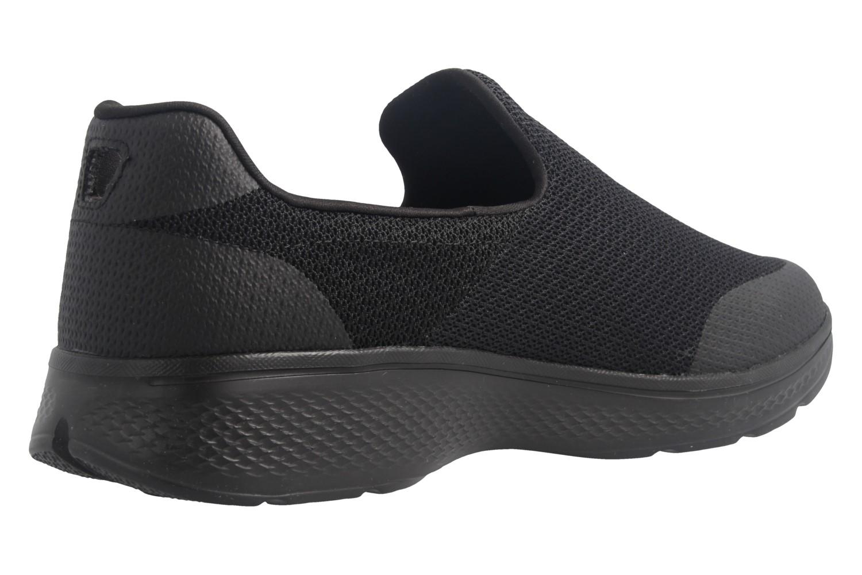 SKECHERS - Herren Slipper - GO WALK 4 Expert - Schwarz Schuhe in Übergrößen – Bild 3