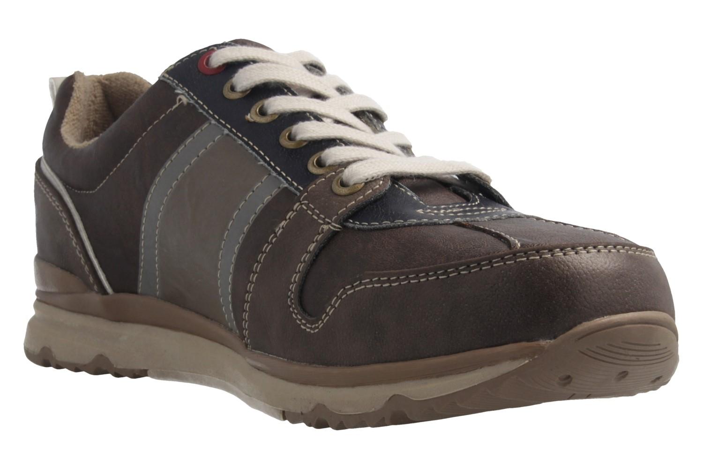 Mustang Shoes  Halbschuhe in Übergrößen Dunkelbraun 4095-302-32 große Herrenschuhe – Bild 5
