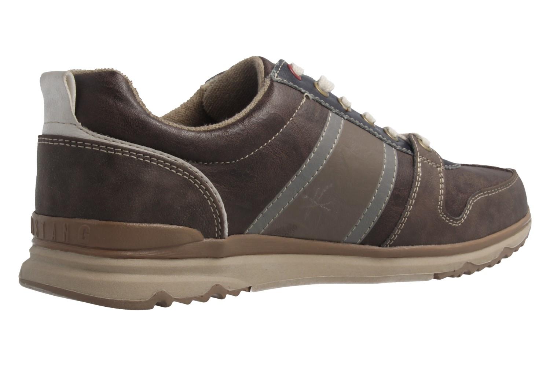 Mustang Shoes  Halbschuhe in Übergrößen Dunkelbraun 4095-302-32 große Herrenschuhe – Bild 3