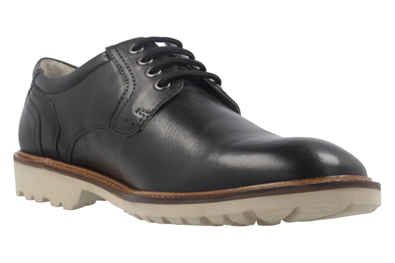 MANZ - Firenze - Herren Halbschuhe - Schwarz Schuhe in Übergrößen – Bild 5