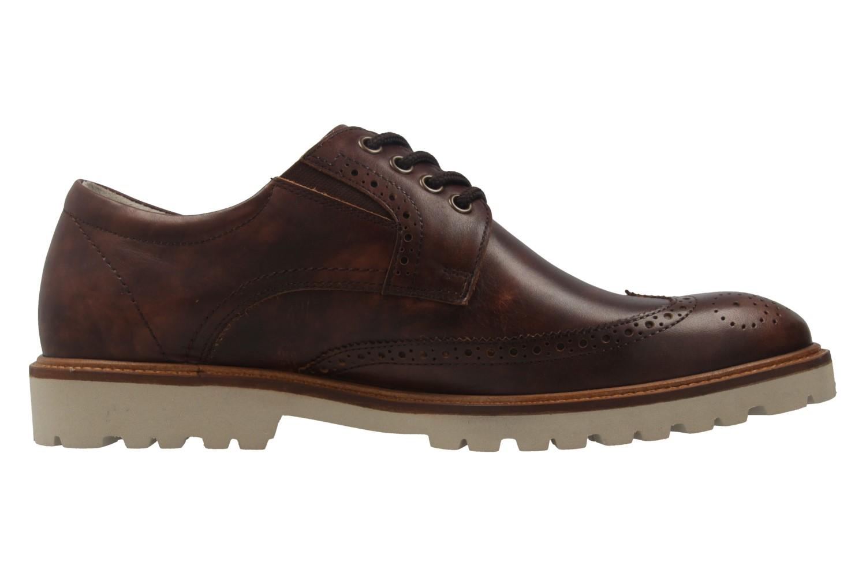 MANZ - Firenze - Herren Halbschuhe - Braun Schuhe in Übergrößen – Bild 4