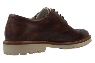 MANZ - Firenze - Herren Halbschuhe - Braun Schuhe in Übergrößen – Bild 3