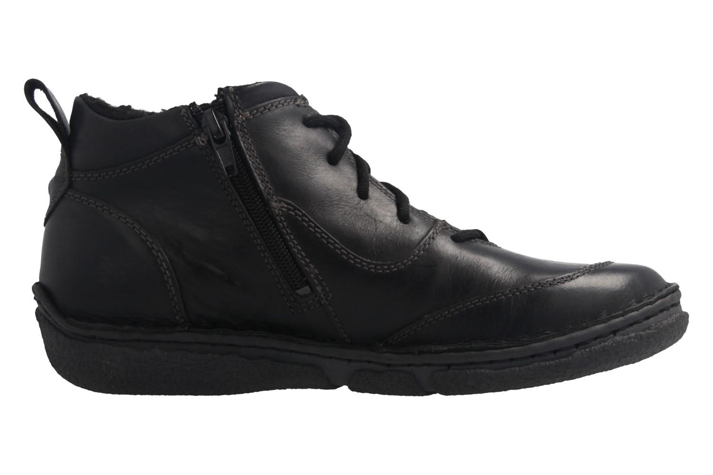 JOSEF SEIBEL - Damen Boots - Neele 34 - Schwarze Schuhe in Übergrößen – Bild 4