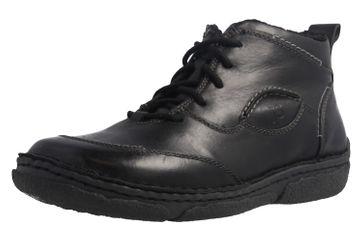 JOSEF SEIBEL - Damen Boots - Neele 34 - Schwarze Schuhe in Übergrößen